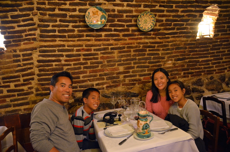 Madrid Botin with kids