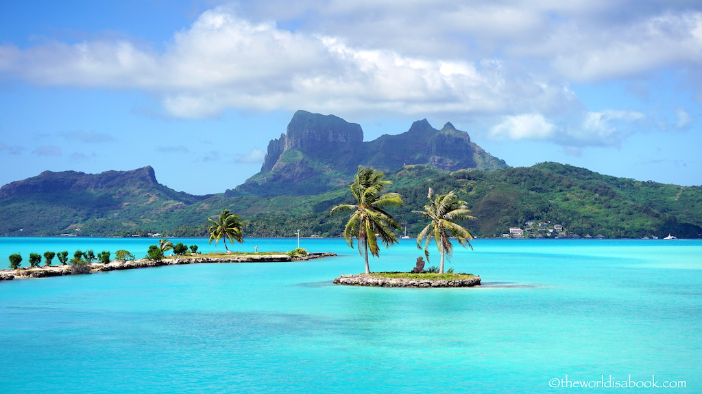 Bora Bora airport view