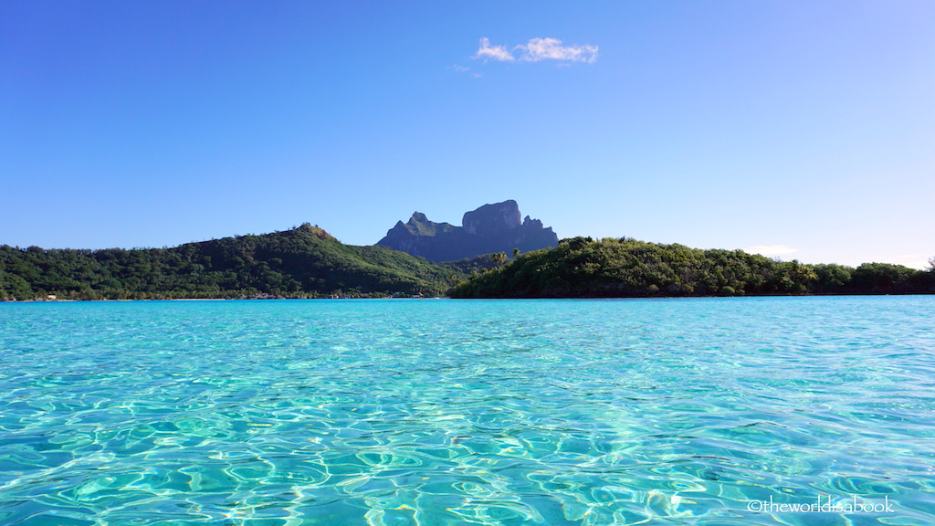 Bora Bora crystal waters