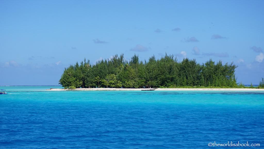 Bora Bora islet