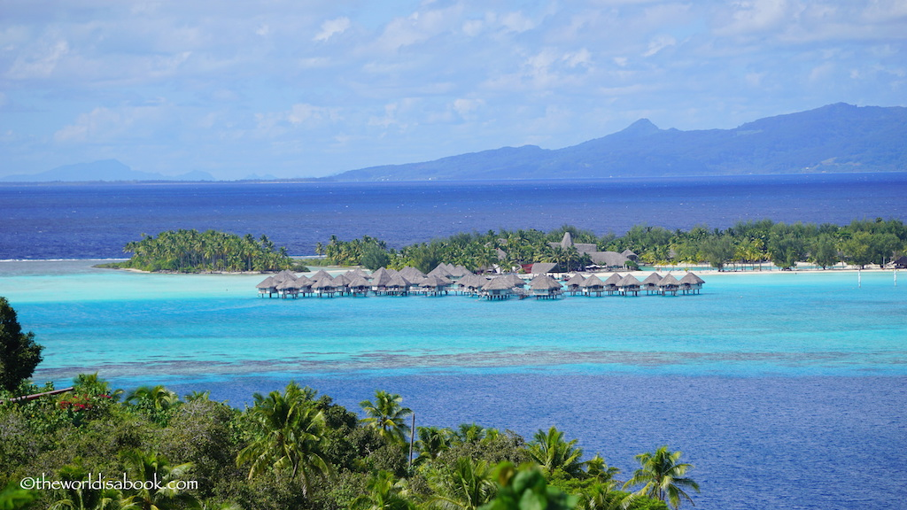 Bora Bora lookout view