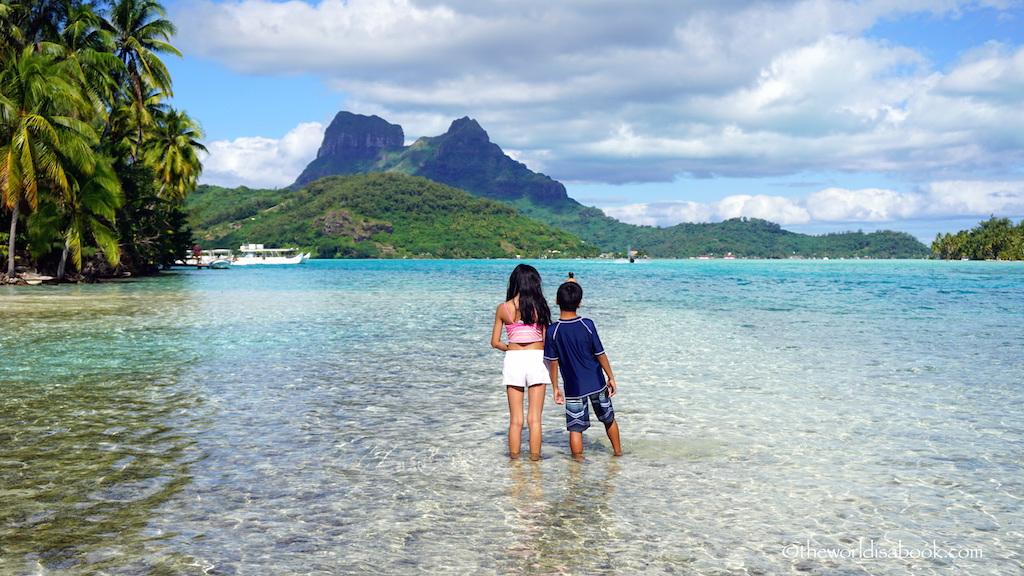 Bora Bora with kids
