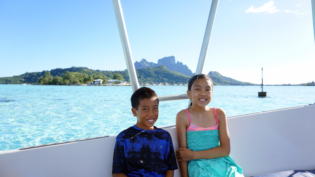 Bora Bora with kids