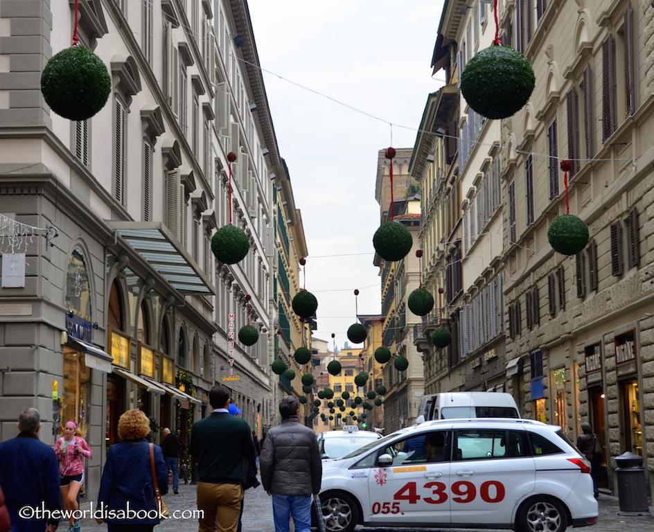 Florence Via Calzaiuoli