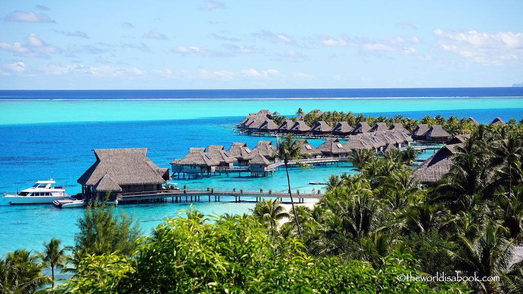 Hilton million dollar view Bora Bora