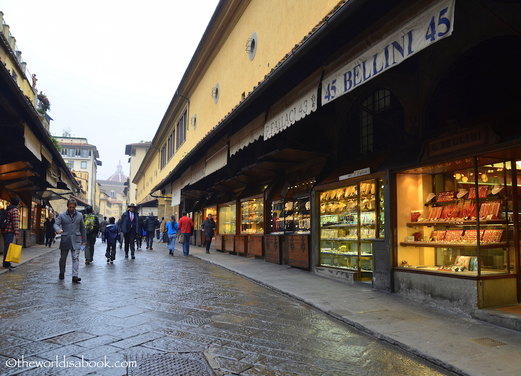 Ponte Vecchio houses