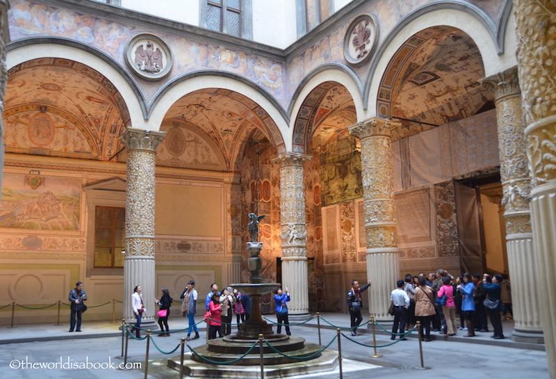 florence Palazzo Vecchio interior