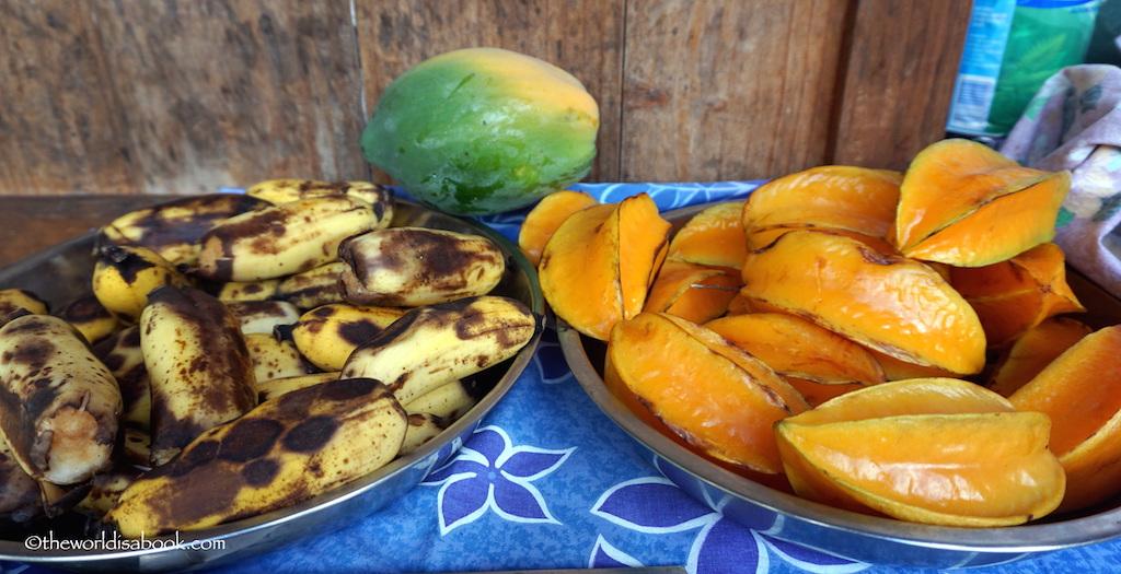 Banana Starfruit Bora Bora