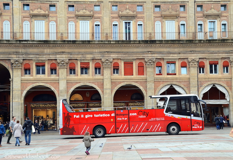 Bologna tourist bus