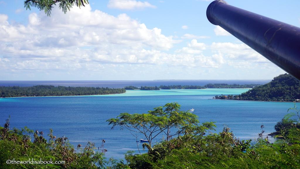 Bora Bora cannon