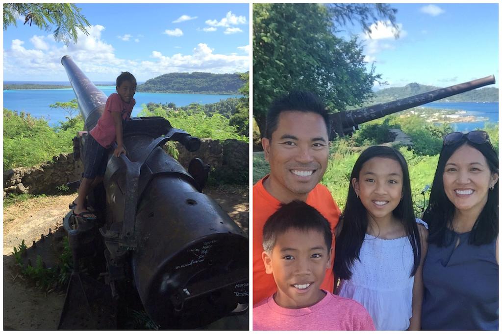 Bora Bora cannons