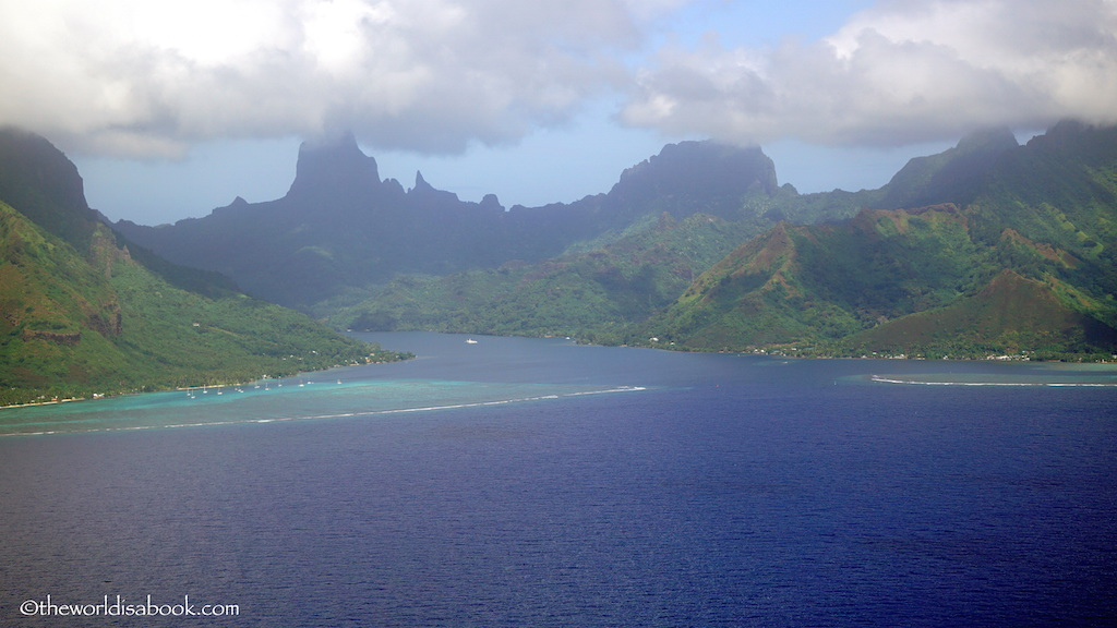 Moorea from above