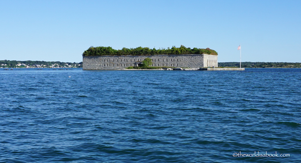 Maine Fort Gorges