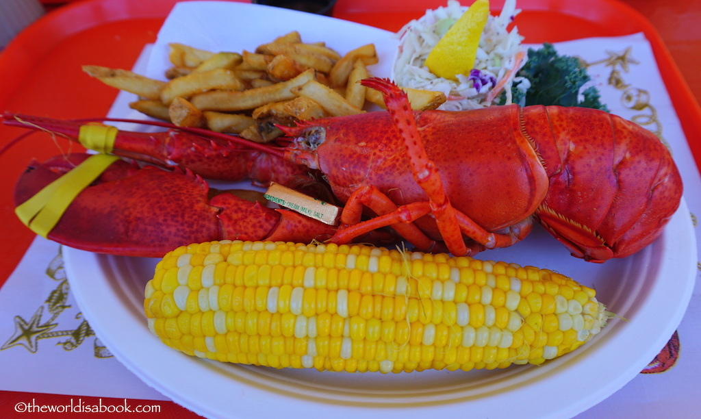 Maine Lobster plate