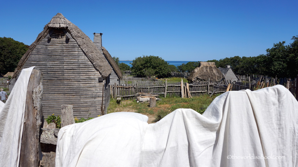 Plimoth Plantation English Village
