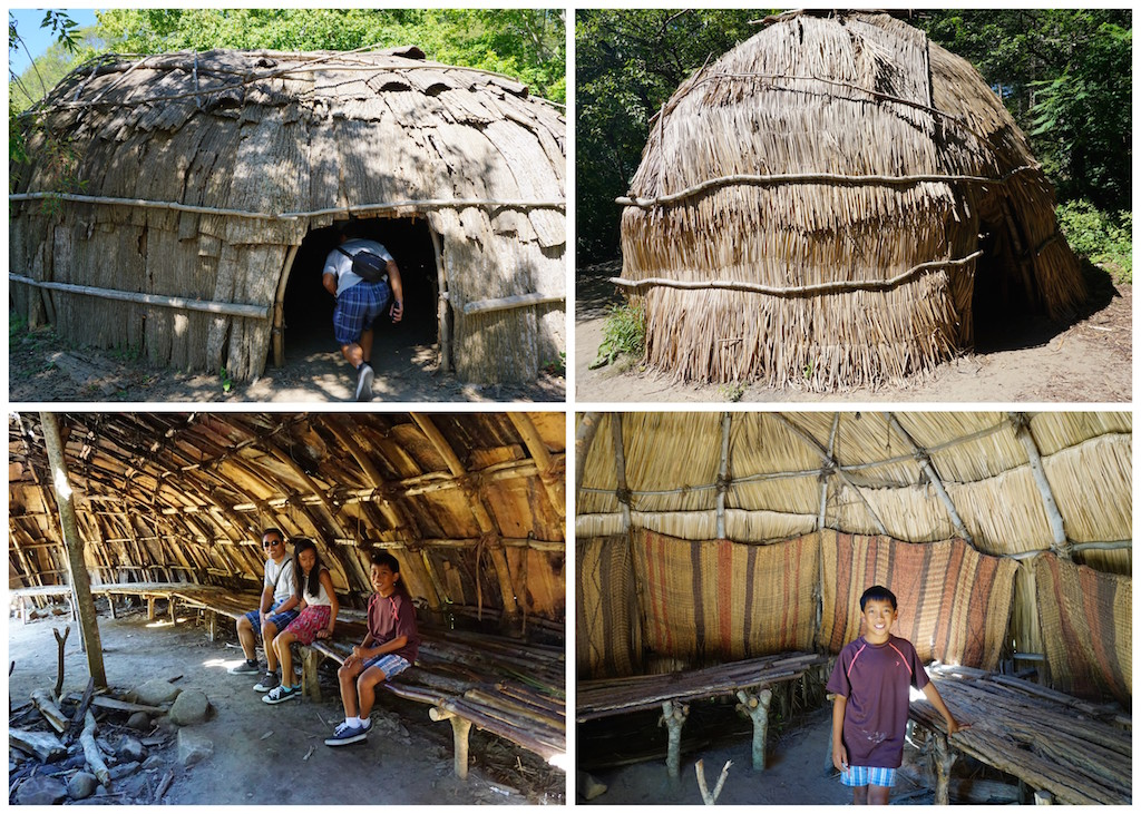 Plimouth Plantation Wampanoag village