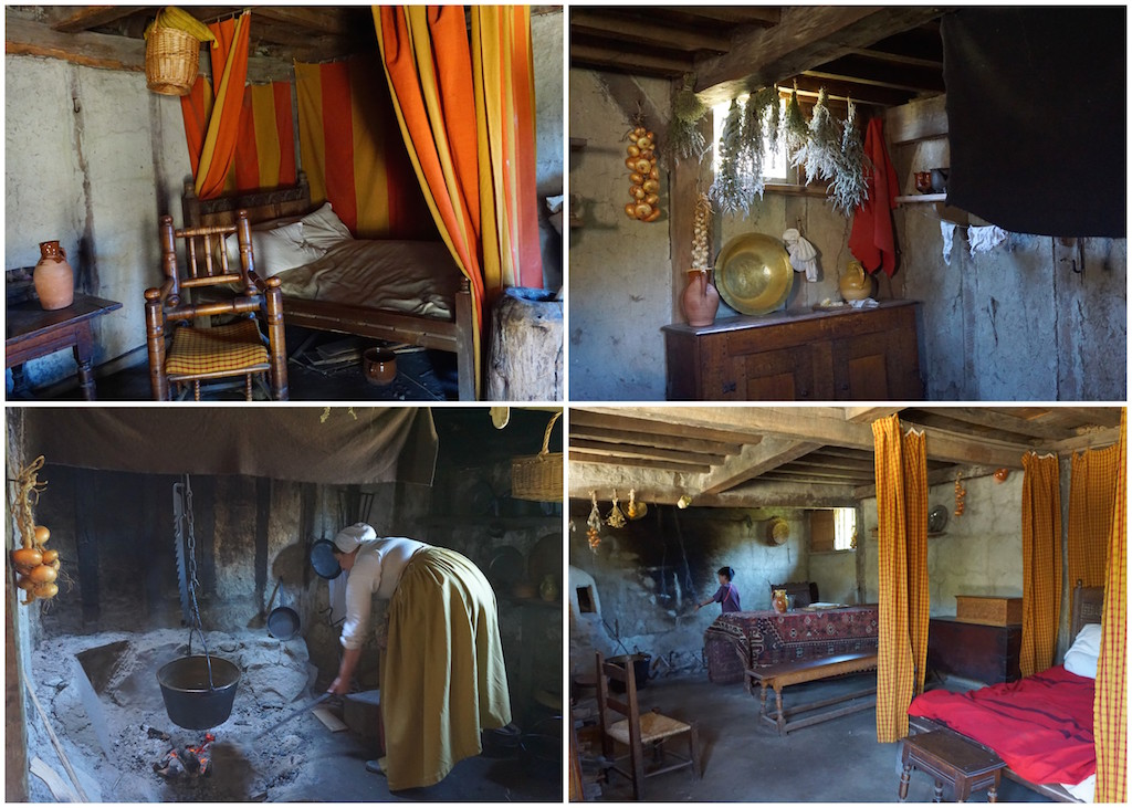 Plimoth Plantation house interior