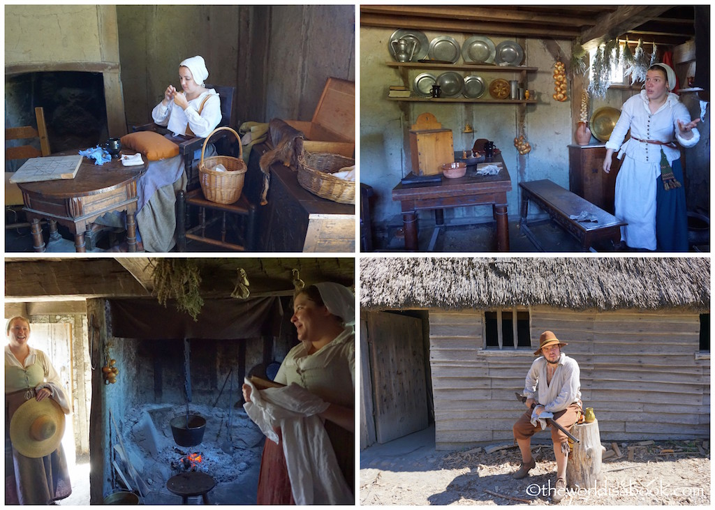 Plimoth Plantation role players