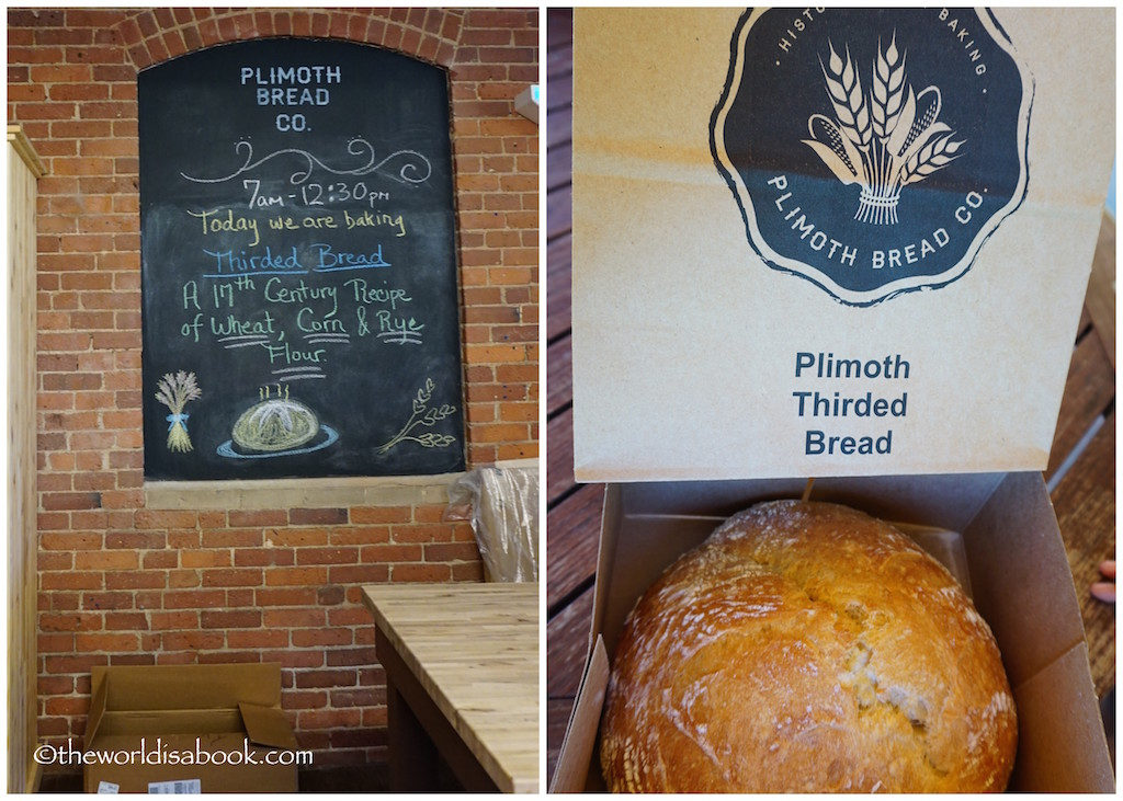 Plimoth Plantation thirded Bread
