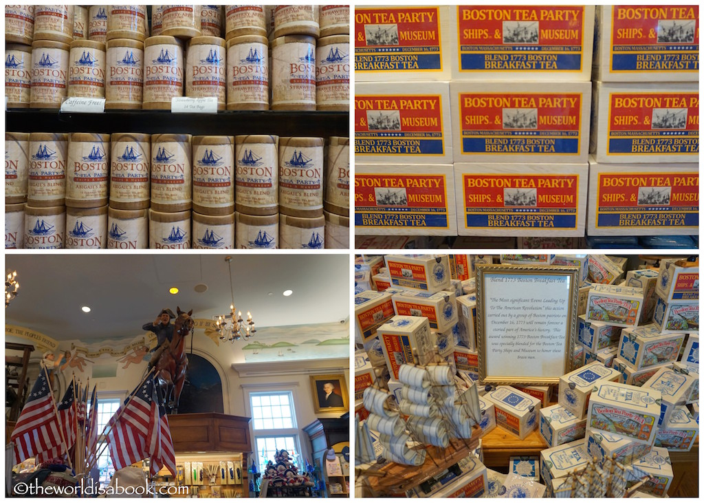 Boston Tea Party Museum gift shop