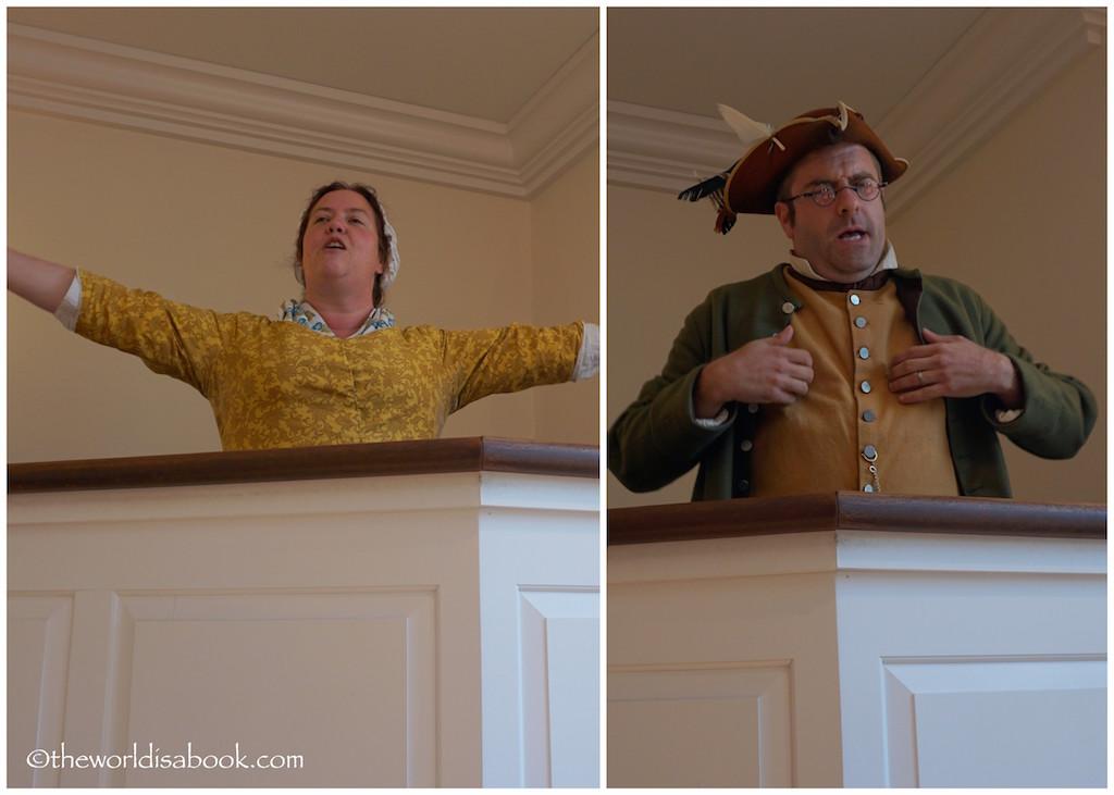 Boston Tea Party actors