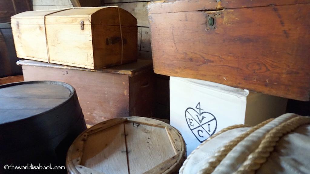 Boston Tea Party chests