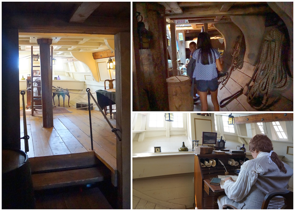 Boston Tea Party ship interior