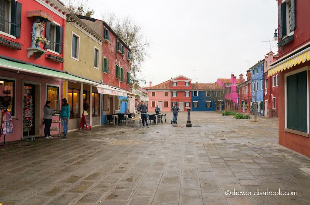 Burano Piazza Galuppi