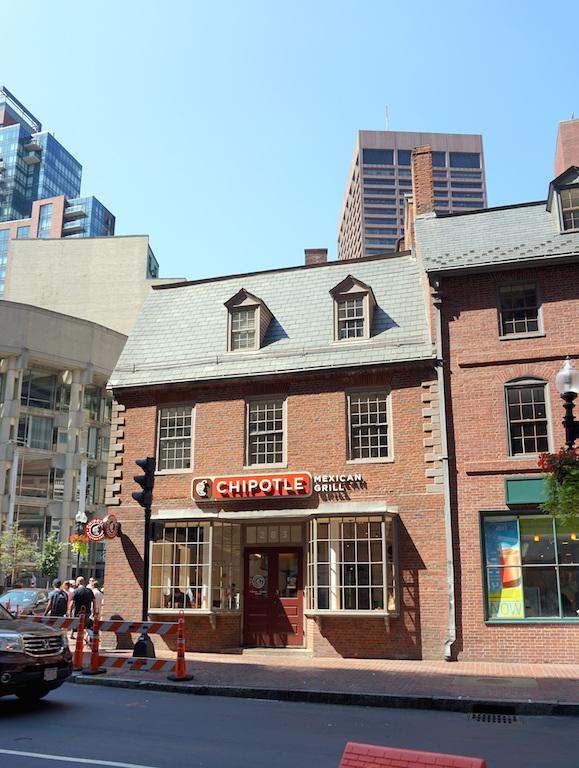 Boston Old Corner Bookstore