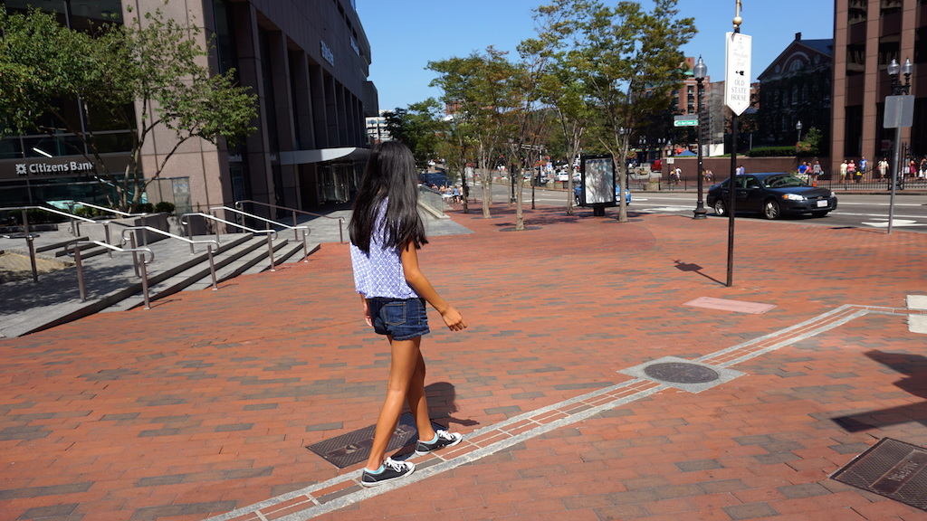 Boston with kids Freedom Trail