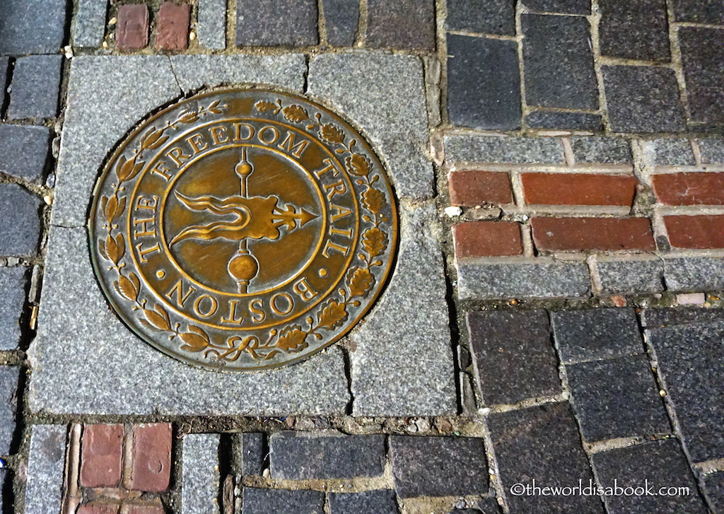 Walking the Freedom Trail in Boston - The World Is A Book