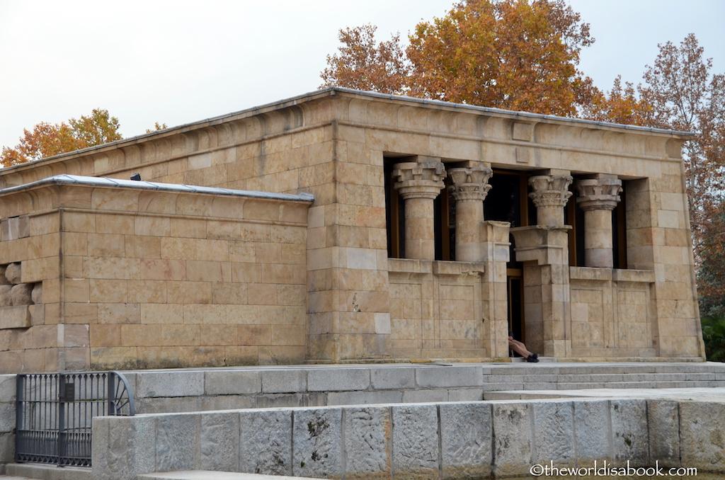 Templo de Debod building