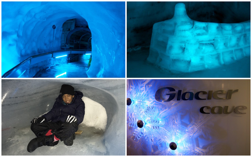 Visiting A Glacier Cave And Igloo In Engelberg-Titlis Switzerland