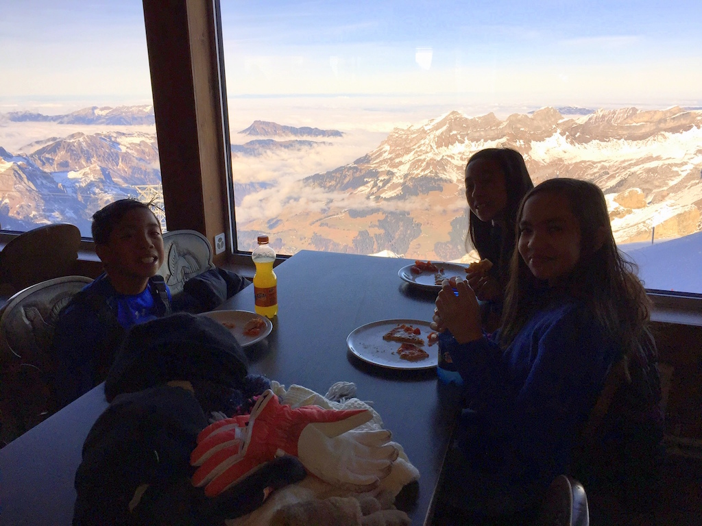Mt  Titlis Panorama Restaurant