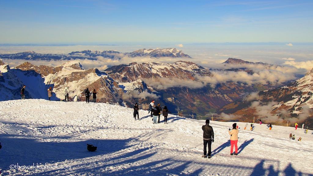 Titlis panorama Switzerland