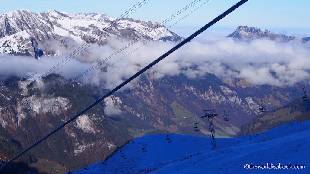 Titlis gondola view