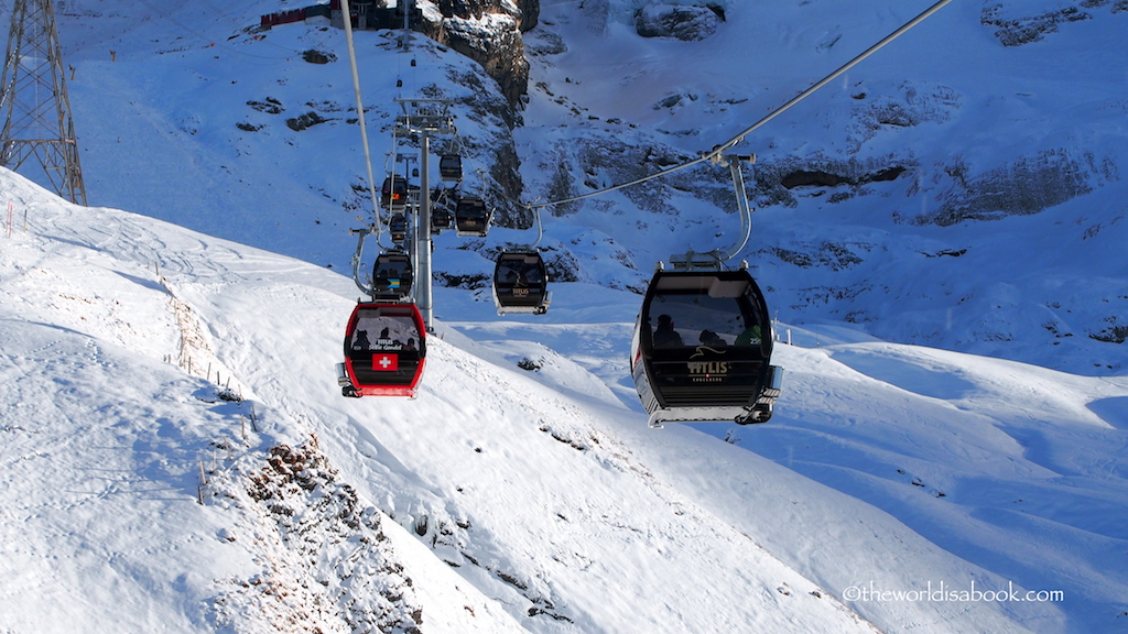 Titlis gondolas Switzerland