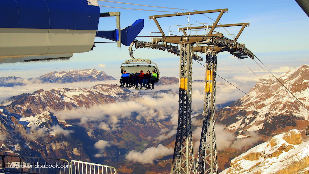 Titlis Ice Flyer Switzerland