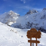 Winter Fun in Furenalp Switzerland