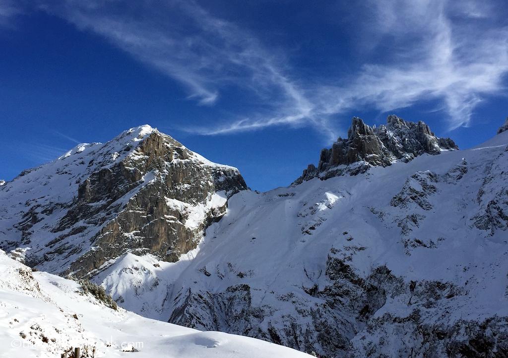 Furenalp Switzerland mountains
