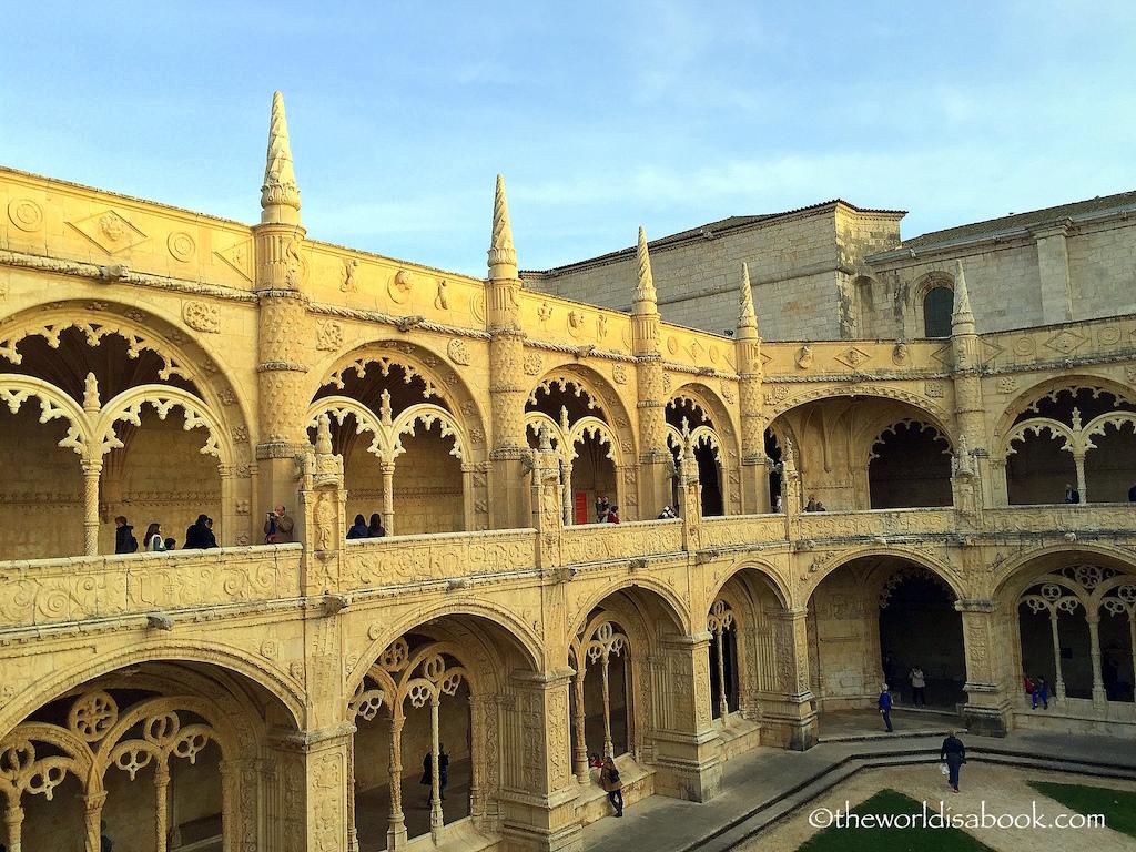 Jeronimos Monastery cloisters