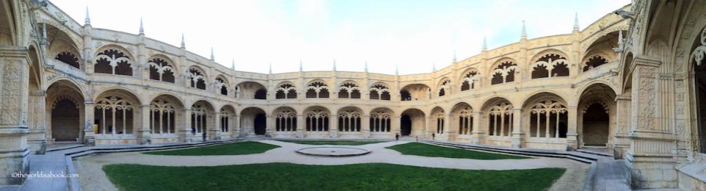 Jeronimos Monastery landscape