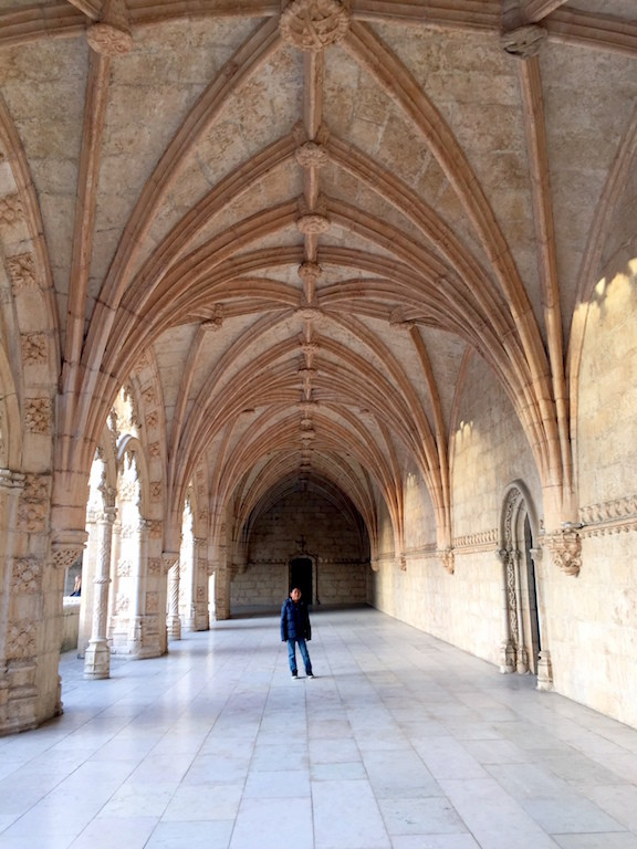 Jeronimos Monastery with kids