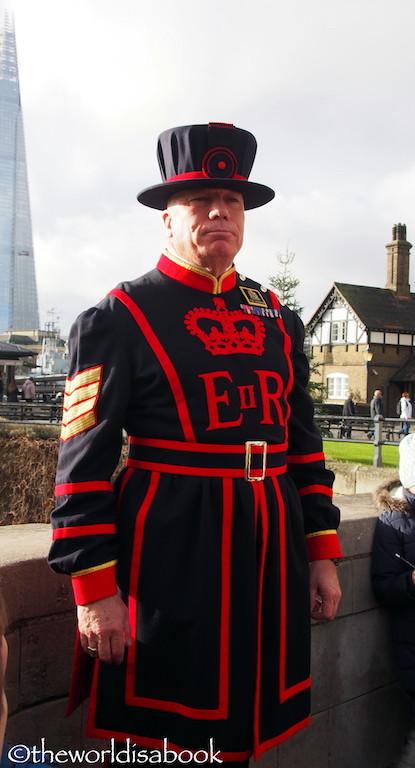 Tower of London Yeoman Warder