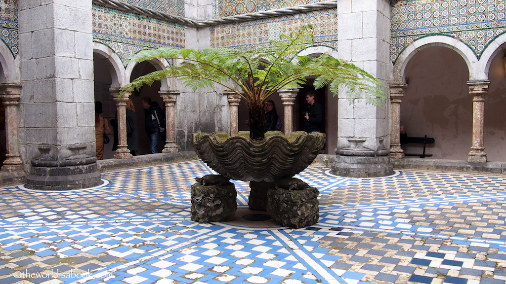 Pena Palace interior courtyard