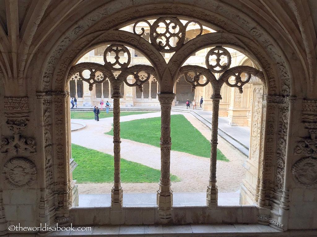 San Jeronimos Monastery courtyard