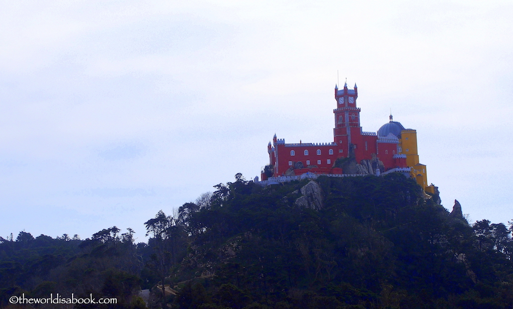 SIntra Pena Palace from afar