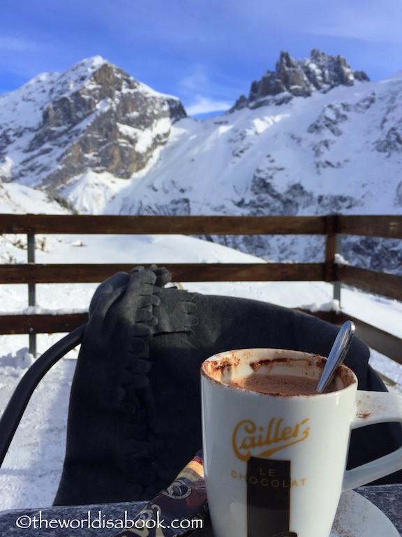 Swiss hot chocolate Furenalp