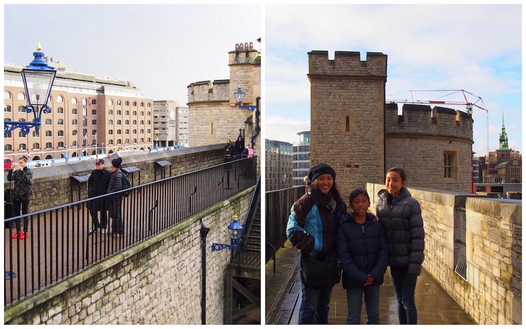 Tower of London Castle Walk
