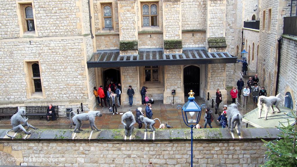 Tower of London monkeys